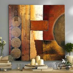 Abstract Canvas Art, Acrylic Art, Canvas Wall Art, Bull Painting, Drawn Art, Africa Art, Geometric Art, Contemporary Art, Colorful Abstract Art