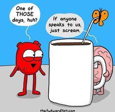 Those days when coffee isn't enough