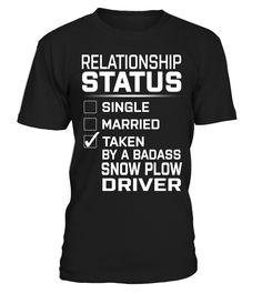 Snow Plow Driver - Relationship Status