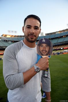 Andre Ethier - Clayton Kershaw hosts Kershaw's Challenge Ping Pong Tournament