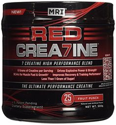 MRI RED CREA7INE  Fruit Punch 25 servings -- Details can be found by clicking on the image.