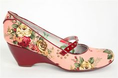 Bed of Roses Marzipan mess shoes  £40.00