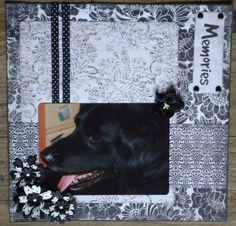 Scrapbook layout My biggest friend