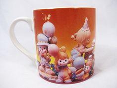 Precious Moments Fill Your Life w/  Birthday Coffee Mug Cup Orange Large Enesco