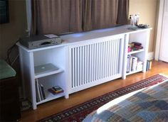 Take a look at some BattyBuilt custom radiator covers we've designed and built. We can design for any space in your home. Living Room White, Living Room Sets, Custom Radiator Covers, Home Radiators, Home Upgrades, Pallet Furniture, Interior Design Living Room, Home Projects, New Homes
