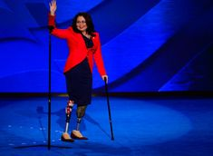 "Illinois GOP tweeted that Tammy Duckworth, candidate for US Senator, a veteran who lost both legs in Iraq -- ""doesn't stand up for veterans"". When caught, the GOP blamed the media for noticing. They never apologized. This is what Republicans do to vets."