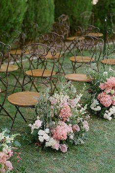 18 Natural Wedding Decor Ideas ❤️ natural wedding décor aisle decorated with simple pink flowers gregfinck decorations aisle 21 Natural Wedding Decor Ideas Wedding Aisle Decorations, Wedding Centerpieces, Spring Decorations, Flower Decorations, Floral Wedding, Wedding Flowers, Wedding Bride, Wedding Shoot, Boho Wedding