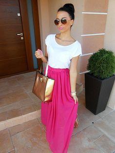 pink maxi❤