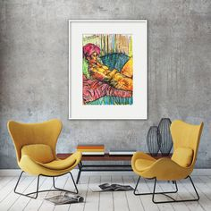 Wall art pictures colorful wall art living room by AnatOstrovsky