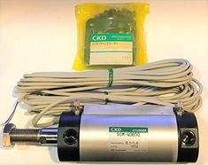 CKD SCM-FB-40B-50-TOH5-D SCM Series Double Acting Fine Speed Pneumatic Cylinder #CKD