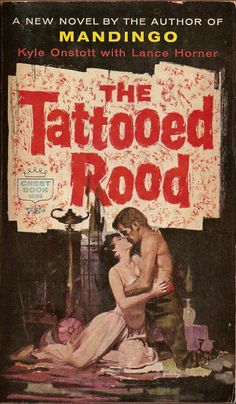 THE TATTOOED ROOD #pulp #fiction #cover #art