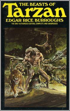 The Golden Age: The Tarzan Series by Edgar Rice Burroughs ~ 1976-78 ~ Artwork by Neal Adams & Boris