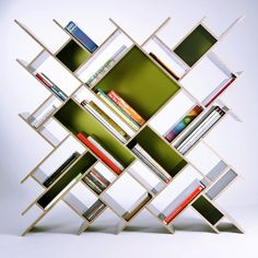 Simple Design Creative Bookshelf Godrej Bookshelf For Wall Cool Bookshelves Australia Glamorous Creative Bookshelves Architecture Creative Kitchen Shelf Liner. Creative Bookshelves, Modern Bookshelf, Bookshelf Design, Bookshelf Ideas, Homemade Bookshelves, Bedroom Bookshelf, Bookshelf Lighting, Bookcase Plans, Ideas Para Organizar