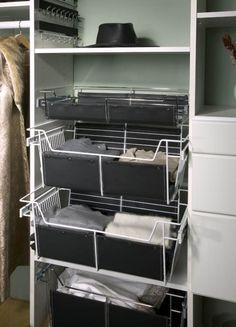Baskets For Folding Items | California Closets