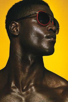 Minkah Davidson by Rodolfo Martinez - Fashionably Male Black Is Beautiful, Beautiful People, Pretty People, Black Pics, Look Body, Poses For Men, Monochrom, Black Models, Black Power