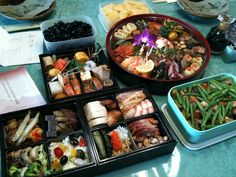 Japanese Osechi Food