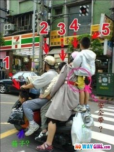 Meanwhile in China – Carpooling