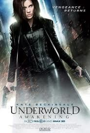 Who doesn't remember brunette Kate Beckinsale in those sexy black outfits with guns in Underworld movies.  The third part of the movie didn't feature Kate, and now she is back again with her fabulous look.