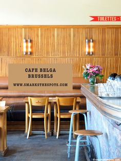 Cafe Belga, Brussels - S Marks The Spots Blog #seemybrussels