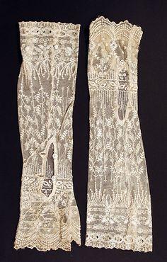 Wedding gloves, 1923, British