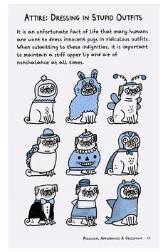 A Pug's Guide To Etiquette By Gemma Correll  $14.95