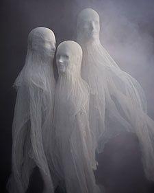 Cheesecloth Spirits - Martha Stewart Crafting