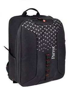 Parrot PF070233 Carrying Protective Parrot Bebop 2 FPV Backpack Black -- Details can be found by clicking on the image.