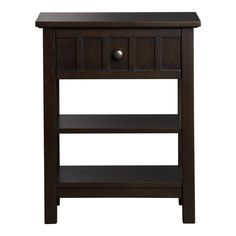 Brighton Coffee Nightstand, Crate & Barrel, $199
