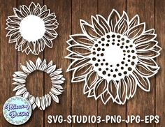 Cliparts, SVG files, Scrapbooking Paper and more by CliPartage Paper Cutting, Sunflower Images, Graphic Design Programs, Vector File, Svg File, Print And Cut, Cricut Design, Scrapbook Paper, Etsy Seller