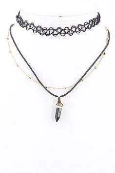 90's Choker Necklace Set