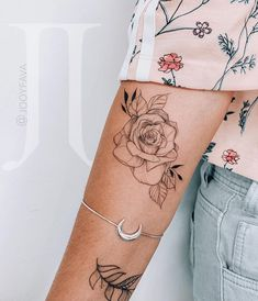 Awesome cute tattoos are readily available on our site. Read more and you wont Word Tattoos, Mini Tattoos, Flower Tattoos, Body Art Tattoos, Small Tattoos, Inner Elbow Tattoos, Inner Forearm Tattoo, Tatoos, Gardenia Tattoo