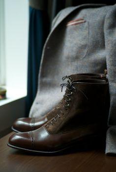 made to order. carmina 10092. bal boots.