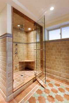 Gentil Spaces Tub To Shower Conversion Design, Pictures, Remodel, Decor And Ideas    Page 2. Find This Pin And More On Mexican Style Bathrooms ...