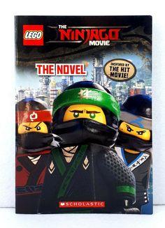 Junior Novel (the Lego Ninjago Movie) by Kate Howard used paperback scholastic. Lego Ninjago Movie, Lego Movie, Hits Movie, Chapter Books, Lego City, Paperback Books, New Books, Novels, Romans