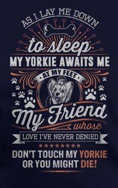 I love my Yorkie :)