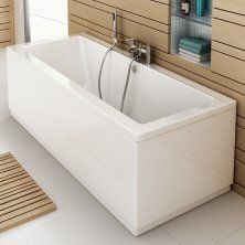1700x700x540mm Square Double Ended Bath