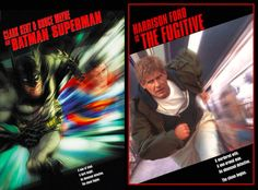 DC Comic Book Movie Covers
