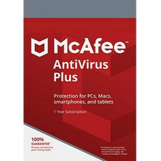With McAfee AntiVirus Plus, you get to protect your device against all the malicious content found online. With a powerful combination of performance and detecting malware instantly, it provides world-class online security. #mcafeeantivirus #mcafeeantivirusplus2019 #McAfeeAntiVirusPlus #McAfeeInternetSecurity #McAfeeLiveSafe Pc Cleaner, Structured Cabling, Antivirus Protection, Latest Smartphones, Antivirus Software, Online Security, Flash Drive, 1 Year