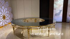 wedding furniture stainless steel frame half moon wedding table, glass have mirror glass ,white glass and black glass. Stainless Steel Table, Wedding Furniture, Moon Wedding, Black Glass, Steel Frame, Wedding Table, Home Decor, Decoration Home, Room Decor