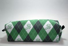 Hey, I found this really awesome Etsy listing at https://www.etsy.com/listing/287068197/boxy-makeup-bag-slytherin-house-argyle