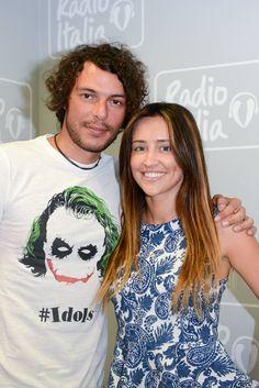 Mirko Mengozzi con Ilenia Lazzarin in compagnia del #joker #tee4two #tshirt