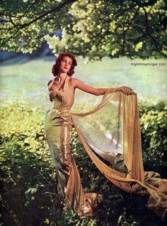 Modess 1956 - Suzy Parker