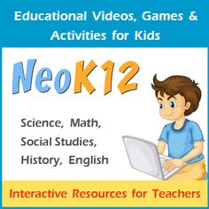 educational videos, lessons, and games