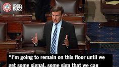 Senate Democrats are literally taking a stand for gun control with filibuster. If you really want to #StandWithOrlando CALL YOUR CONGRESSMAN!
