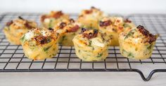 Muffins are so easy to make, which makes them extremely popular. For some reason, savoury muffins are often overlooked in favour of their sweet cousins. I've redressed the balance here with these Mediterranean-inspired mini cheese muffins flavoured with sun-dried tomatoes and oregano.