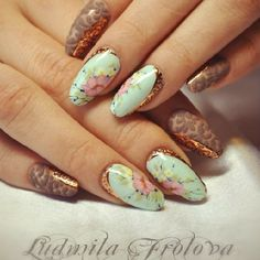 'beautiful porcelain effect, gel painting' so in love with the floral