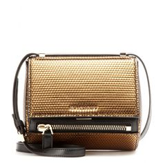 I got my eyes set on you! - coming soon.  Givenchy - Pandora Mini Box shoulder bag - Givenchy extends the designer's 'Pandora' line with this 'Mini Box' version. The rounded base and metallic gold finish keeps this style contemporary and cool, especially when contrasted against silver-toned hardware. Let it amp up your day look and carry it next to all black for a stark contrast. seen @ www.mytheresa.com