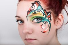 Maquillage artistique facepainting ATS événements Make up : sandra Guyomar