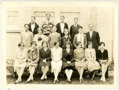 1928 Photo OR Oregon Stayton High School Seniors Class Group Picture