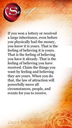 Heart. Mind. Soul. : Law of Attraction Rules: Feeling is Believing